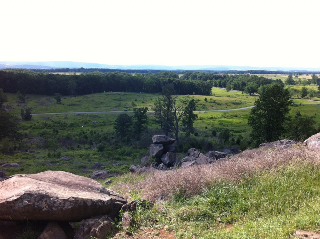 Gettysburg Battlefield: Little Round Top
