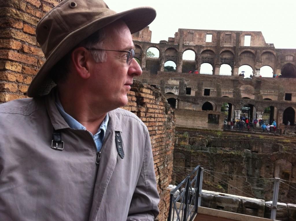 Steve at the Colosseum