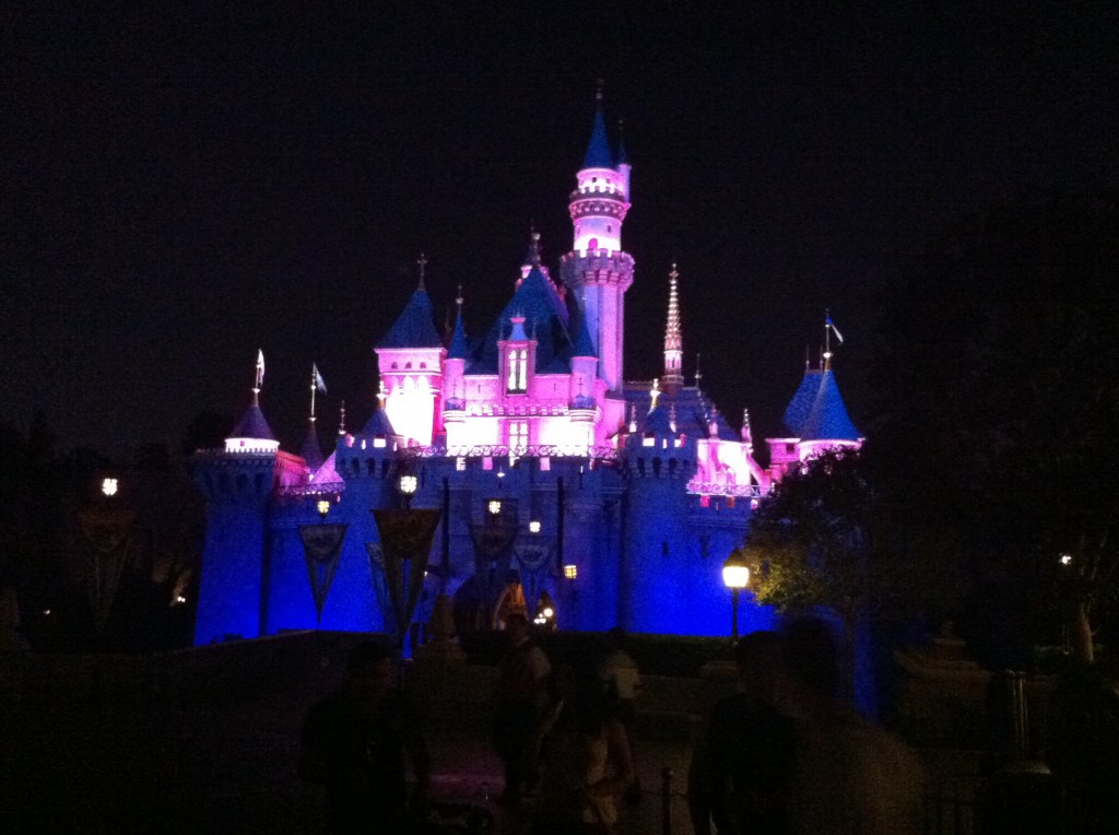 Our weekend in Anaheim included an evening at Disneyland. You can read my companion's account of our visit to the Happiest Place on Earth.