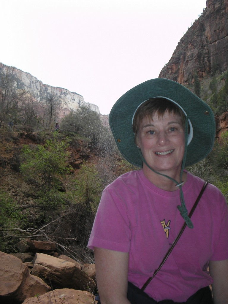 Mimi and I visited Zion Canyon in 2007, too.