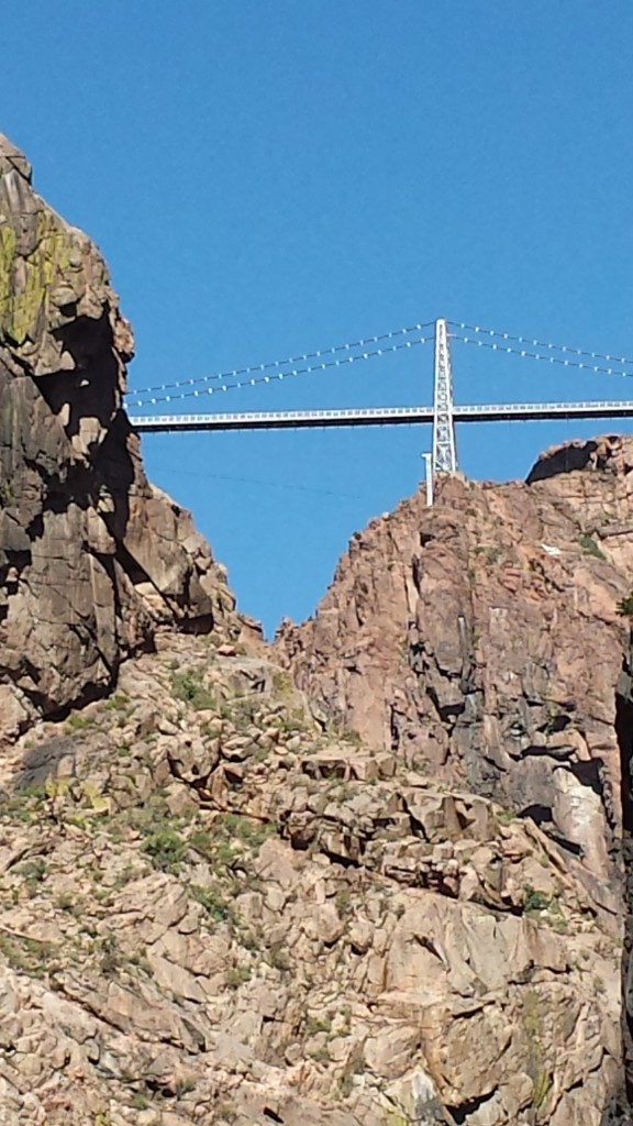 I zoomed in for a closer look at the bridge.