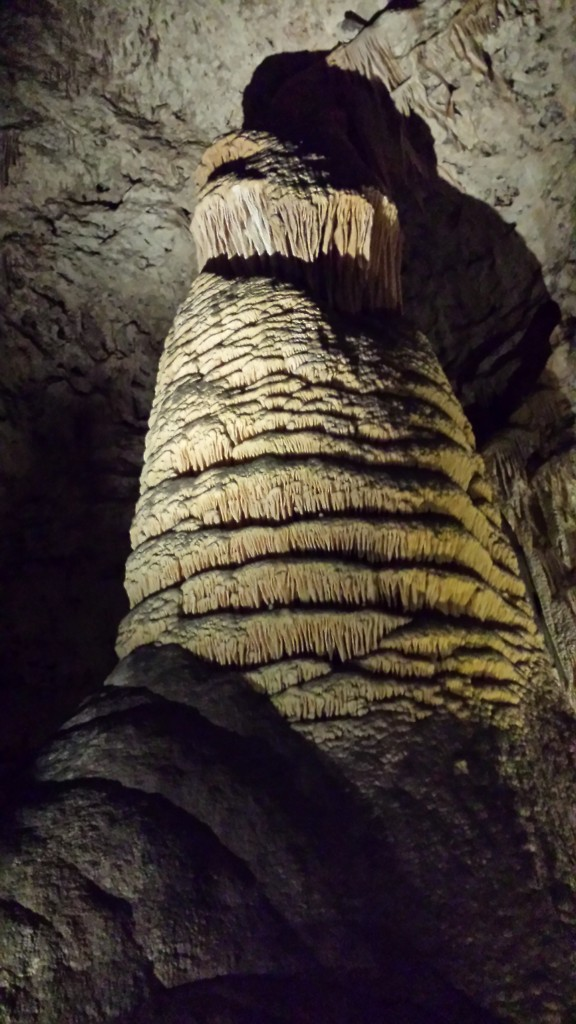 Rock of Ages at Carlsbad Caverns