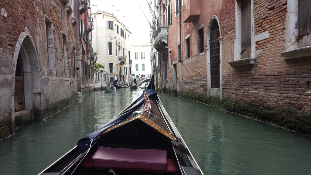 Max explained many of the landmarks as he steered us through the city's tight canals.