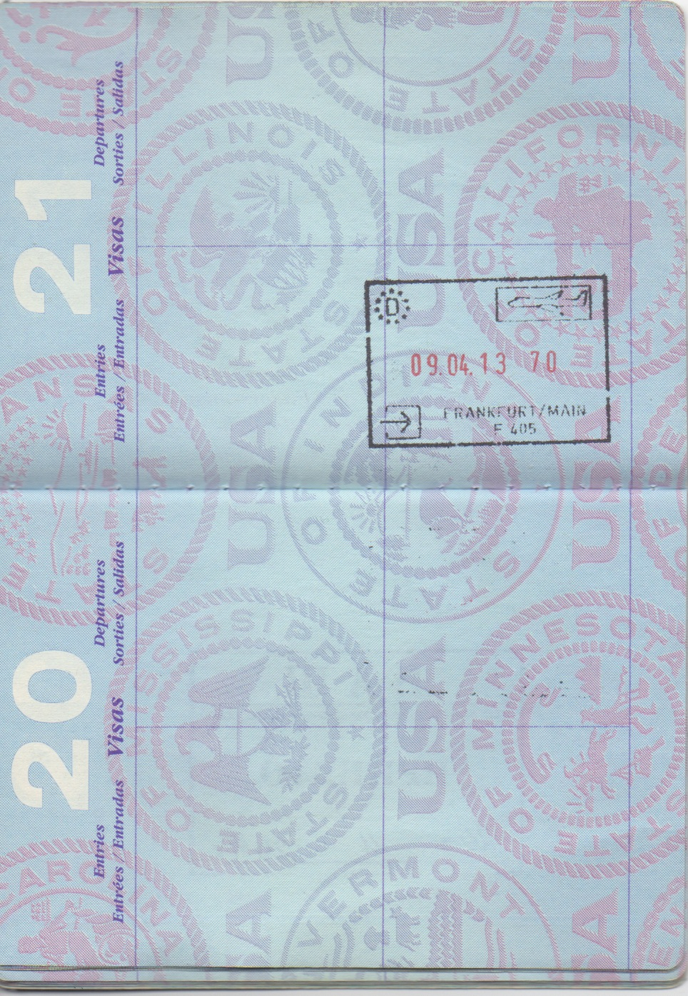 Retiring An Old Passport With A Lot Of Fun Travel Memories