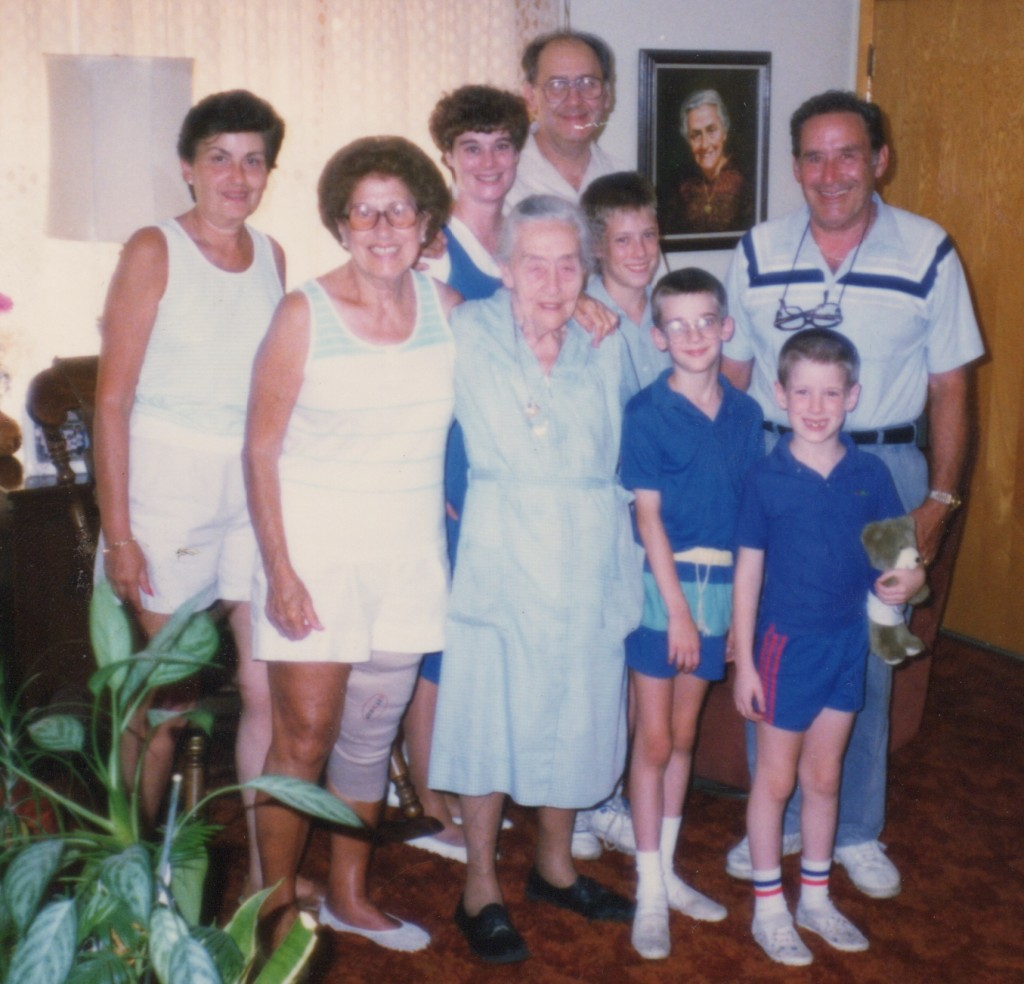 We all cherish memories of visiting Grandma Barone and other Barone relatives in 1989 in Bayonne, N.J.