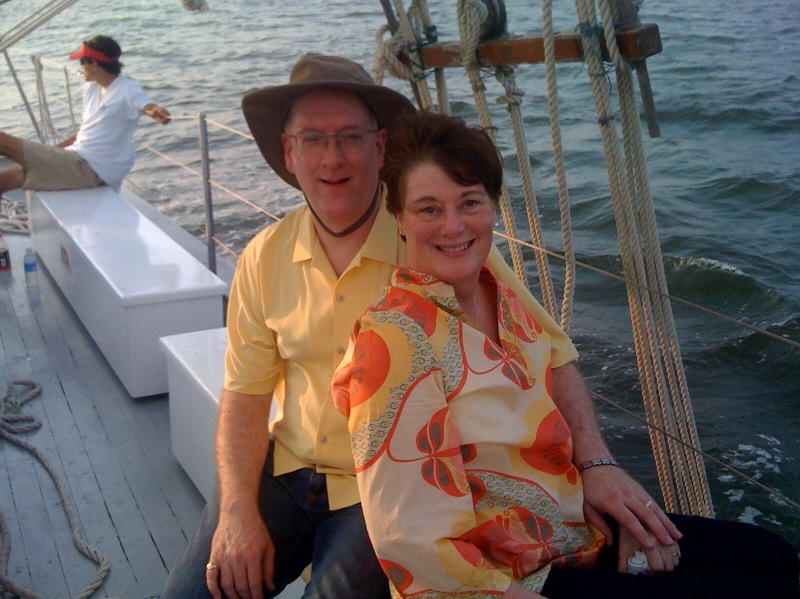 My traveling companion and I enjoyed a cruise on the Gulf of Mexico.