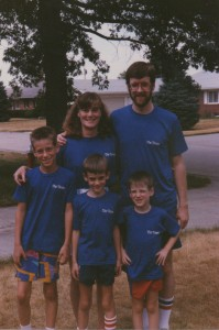Our family in Kansas City Times t-shirts