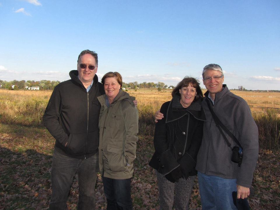 We visited the Gettysburg Battlefield last year with Mary and Jim.