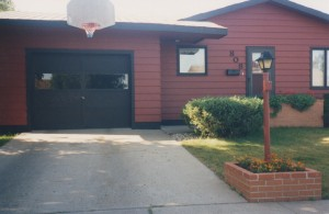 Our home in Minot. We rented it for almost a year, then bought it. I was fired before making the first mortgage payment.