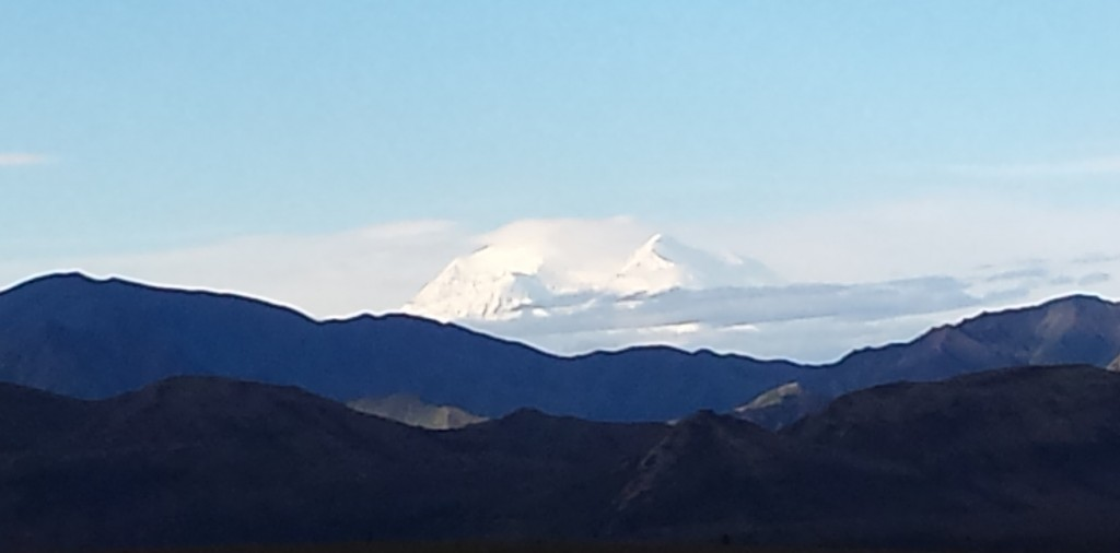 Mt. McKinley, called Denali by the Athabasca.