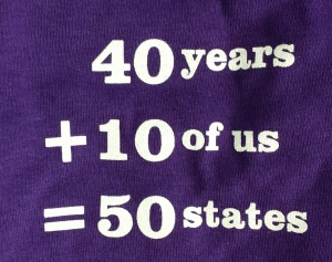 The math on our shirts