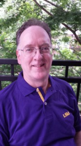 steve in LSU shirt