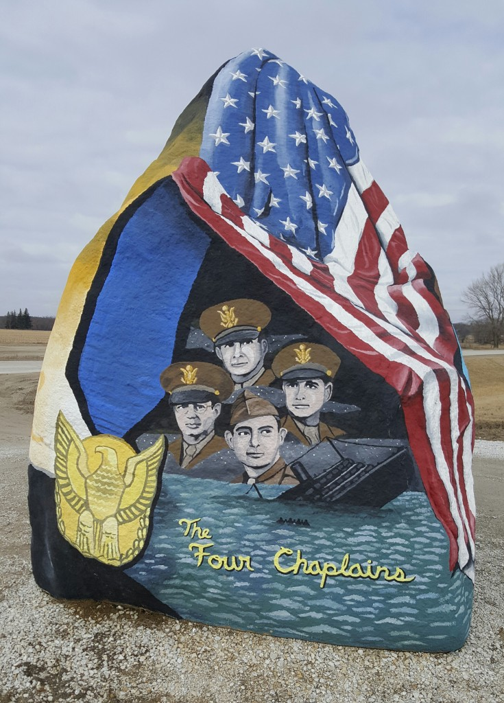 Freedom Rock, painted by Bubba Sorenson.
